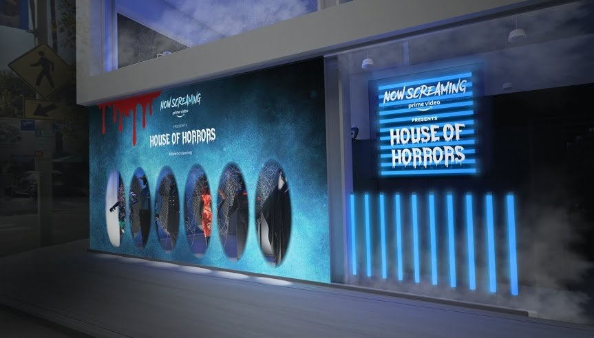 Amazon is launching a free House of Horrors pop-up in West Hollywood