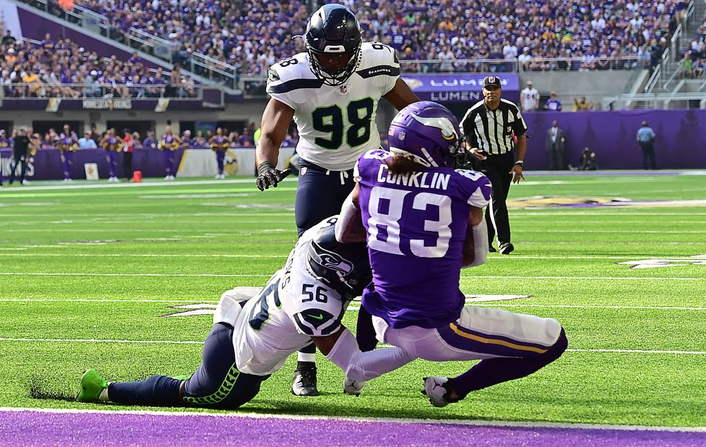 Bob Sansever: Alexander Mattison, Tyler Conklin, modified offense pull the Vikings out of the abyss