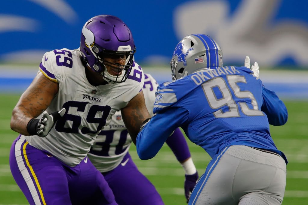 Christian Darissau returns to practice, but Vikings say Rashod Hill is 'our man' in left tackle