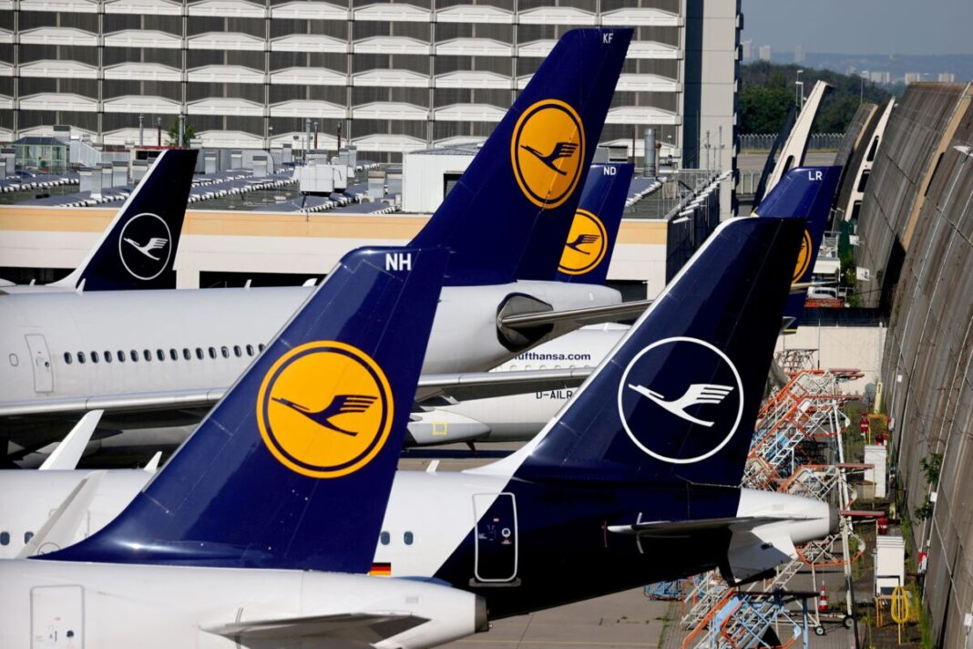 Demand for resumption of Lufthansa flights in the United States