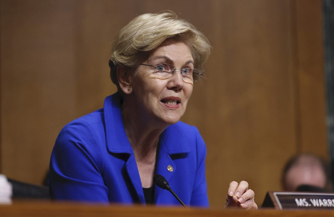 Elizabeth Warren will oppose Fed Chair Powell reconstruction, telling him 'you are a dangerous man'