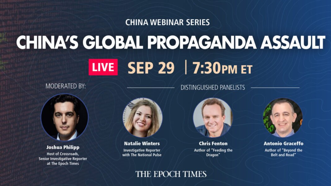 Special Live Q&A Webinar: China's Information War to Subvert the US