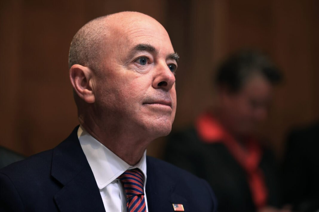 The Homeland Security Secretary will travel to the Mexican border