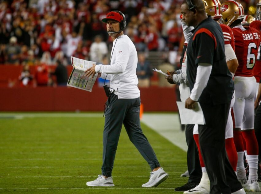 49ers mailbag: How much falls on Kyle Shanahan for three-game skid?