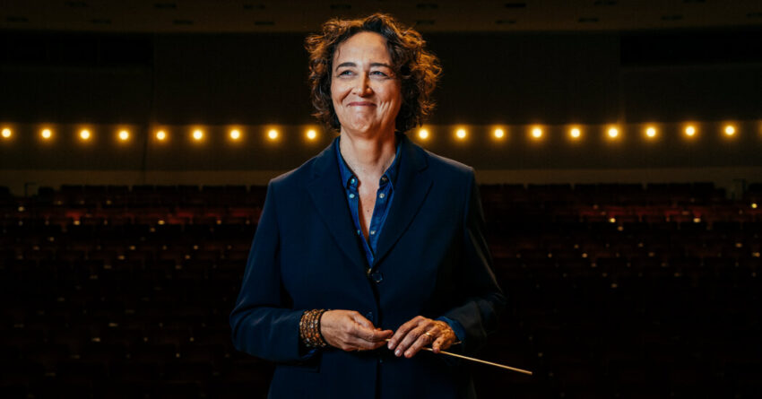 A Female Conductor Joins the Ranks of Top U.S. Orchestras