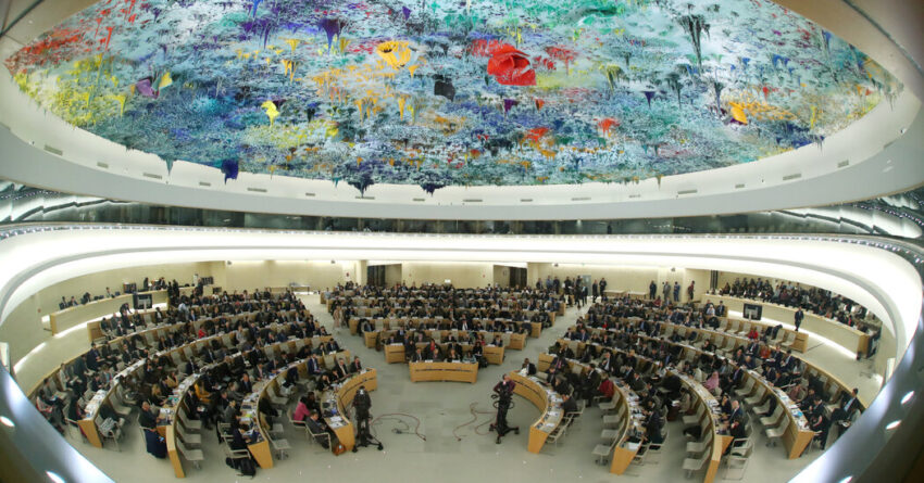 America's seat on the UN Human Rights Council, 3 years after leaving
