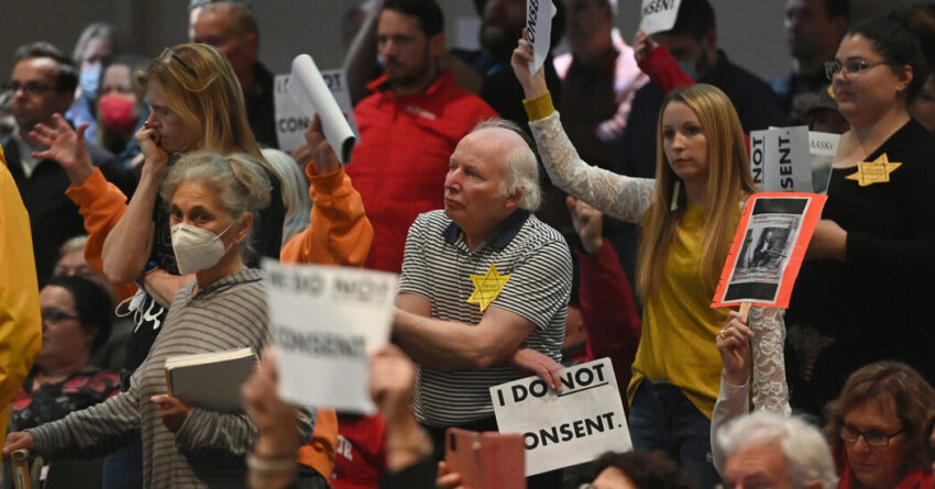 Anchorage approves a mask mandate after two weeks of intense debate.