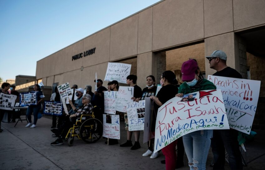 Another inmate death at West Valley Detention Center spurs protest, legal claim