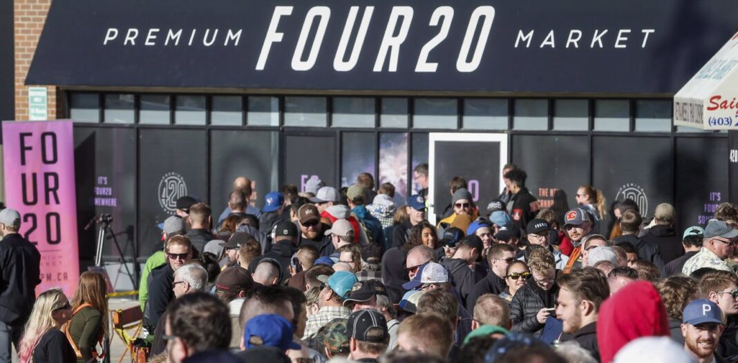 Cannabis store openings in Canada only slightly affected the number of users