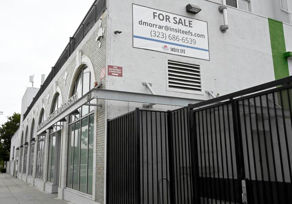 Charter school moved out of San Pedro leaving historic building for sale