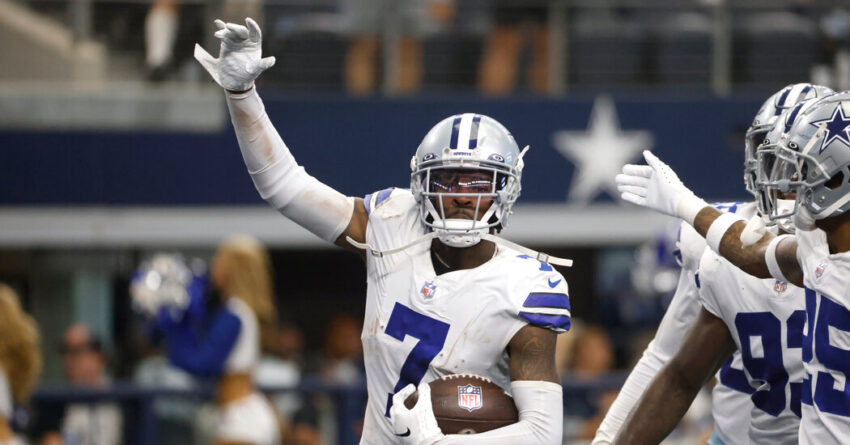 Cowboys' Trevon Diggs Is Among the N.F.L.'s Breakout Stars