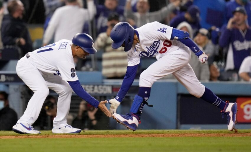 Dodgers force NLDS Game 5 with offensive outburst against Giants