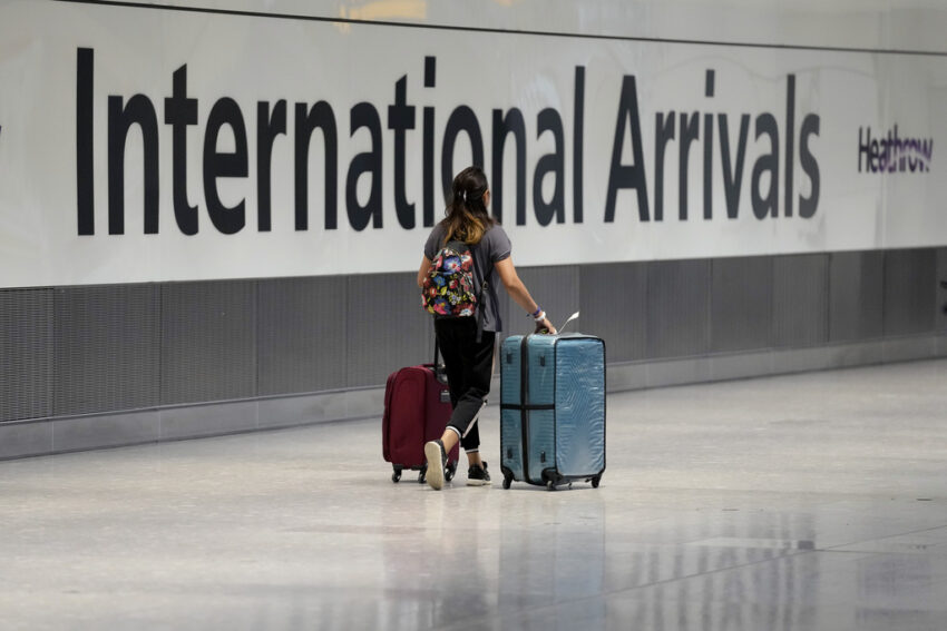 England will relax COVID testing rules for incoming travelers
