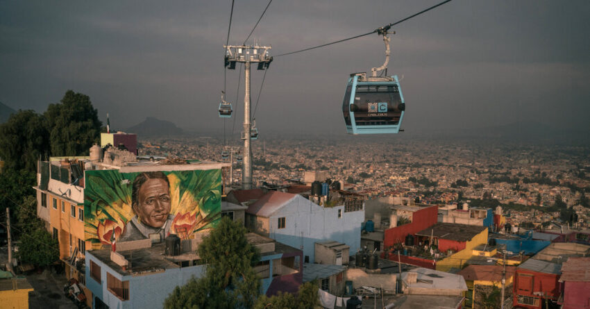 Exuberant Art and Cable Car Can Lift a Poor, Violent Place Only So High