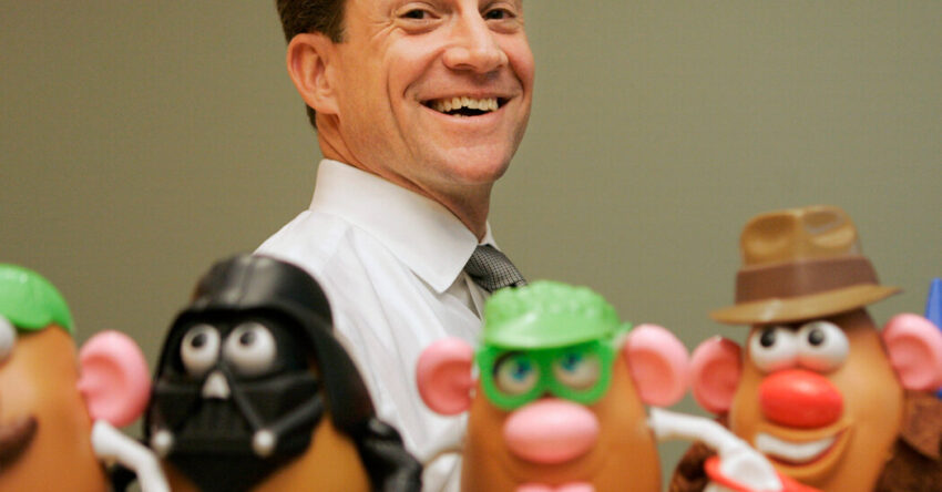 Hasbro's chief executive and chairman, Brian Goldner, dies at 58.
