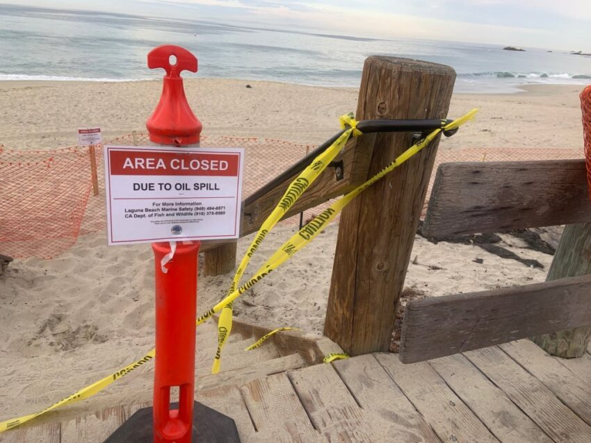 Here's Why Beaches and Ports Are Closed as Officials Work to Stop a Massive Oil Spill