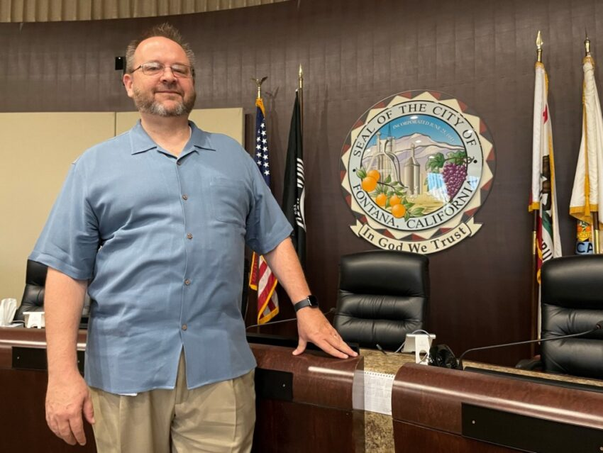 In Fontana, former developer Phil Burum embraces role at City Hall