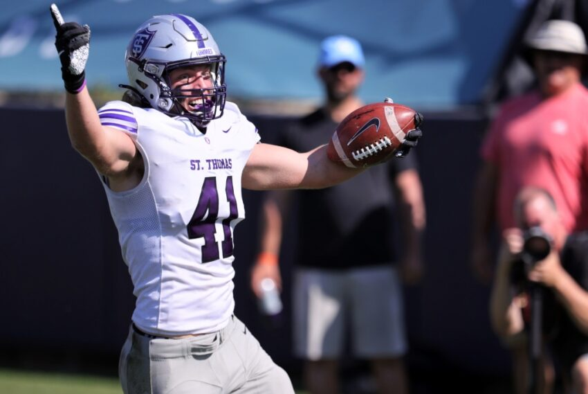 Jonathan Bunce gives Tommies football the complete package: size, speed, skill and determination