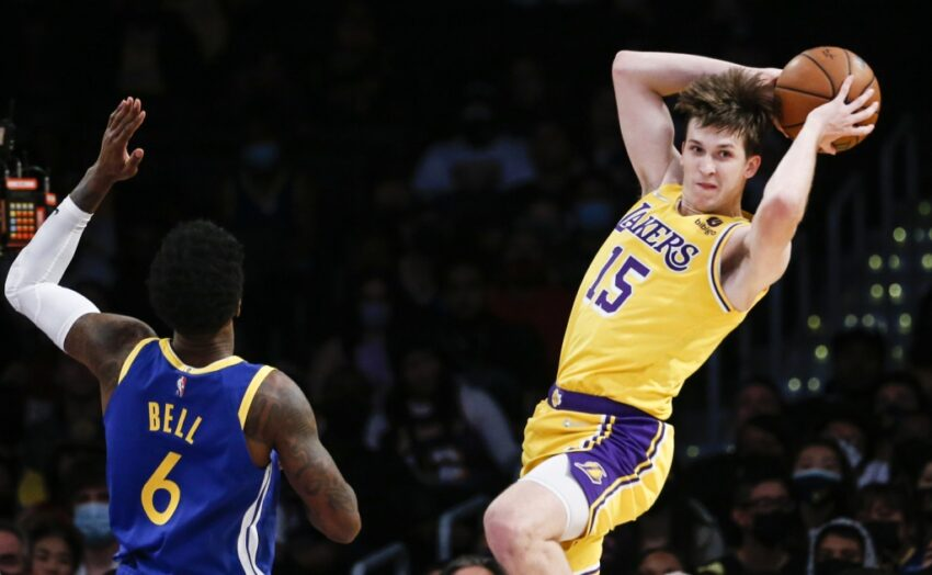 Lakers rookie Austin Reaves thrust into duty as injuries mount