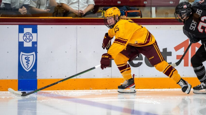 No rest for slow-starting Gophers women's hockey team