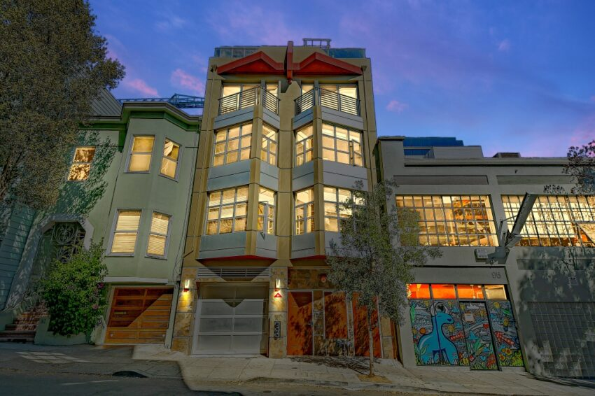 One of a Kind: Rare penthouse condo with private terrace/greenhouse near Hayes Valley in S.F.