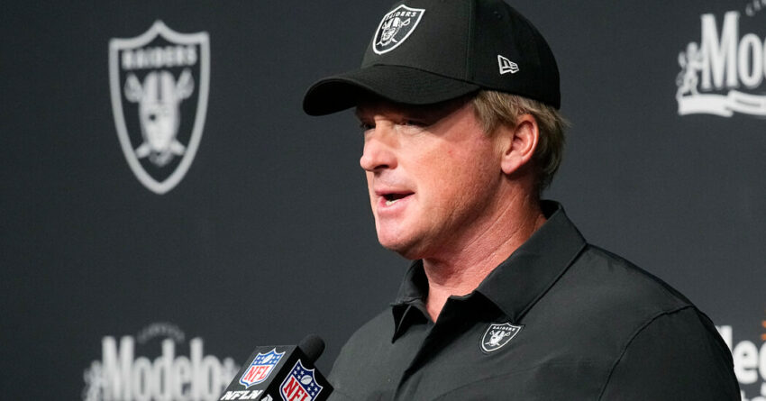 Raiders Coach Resigns After Homophobic and Misogynistic Emails