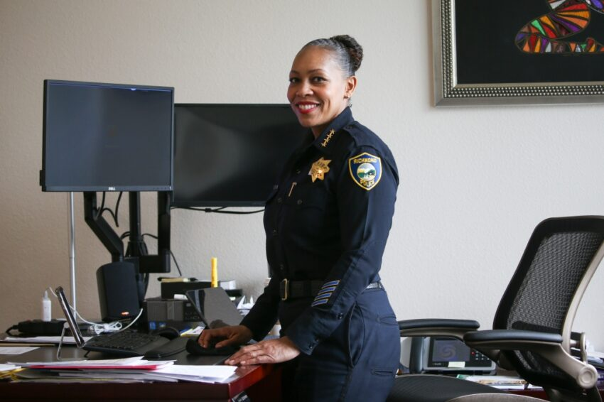 Richmond chief on leave after family member accuses her of violence, death threats in investigation that has ensnared three Bay Area police chiefs