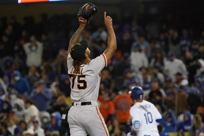 SF Giants Camilo Doval's six-out save in NLDS holds special place in rookie history