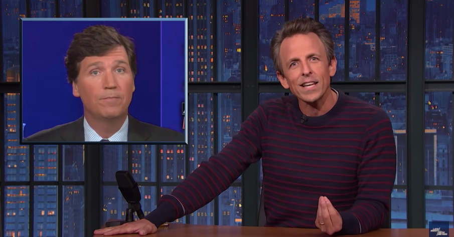 Seth Meyers Berates Fox News for Its Reporting on Vaccine Mandate