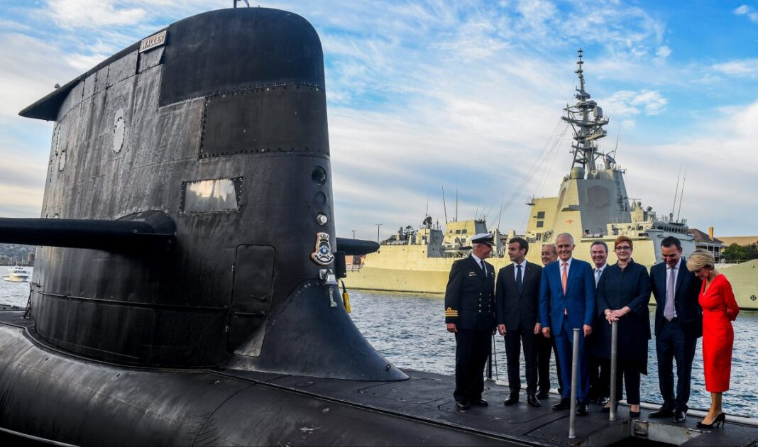 The French should see the sub-deal being canceled: defense analysts