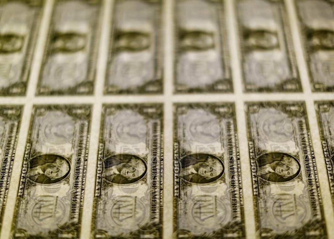 The dollar is set for the best week since June on the expected Fed tightening