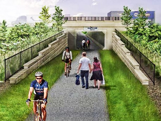 To boost safety, the Robert Street Underpass in West St. Paul is ready for use