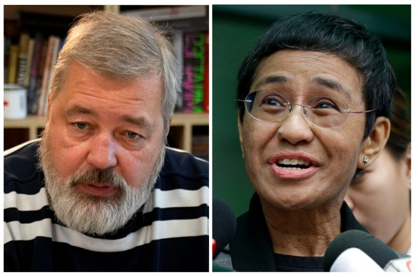 Trudy Rubin: Ressa and Muratov's Nobel for defending press abroad should wake Americans up