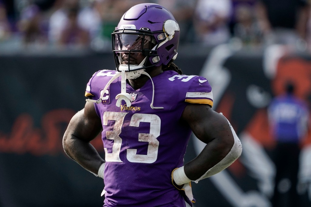 Vikings' Dalvin Cook active for Browns game