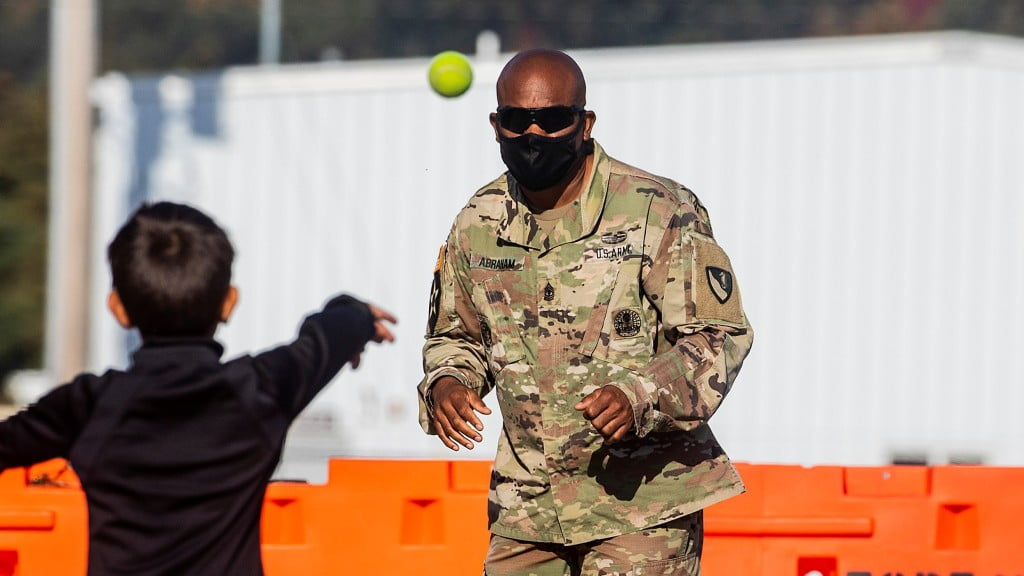 Visit to Wisconsin Army Post Reveals Grateful, Bored Afghans