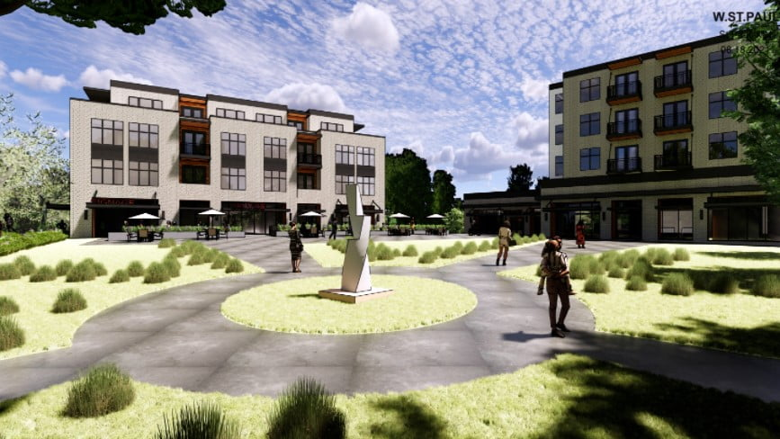 West St. Paul: Apartments and retail space could replace Dodgeway Shopping Center