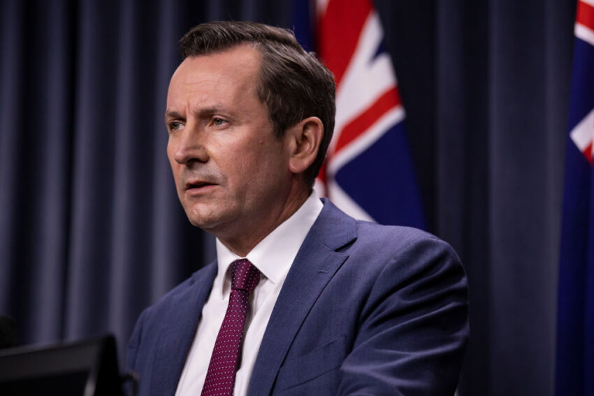 Western Australian leader laments lack of 'praise' for China from eastern state