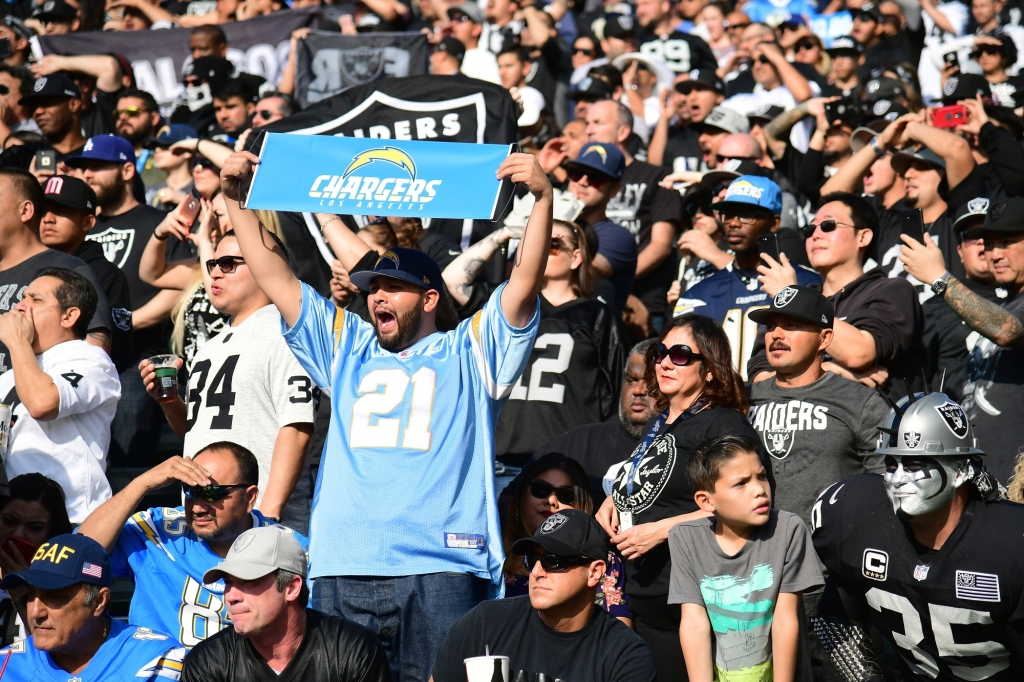 What will Sophie Stadium look like for Chargers vs Raiders?