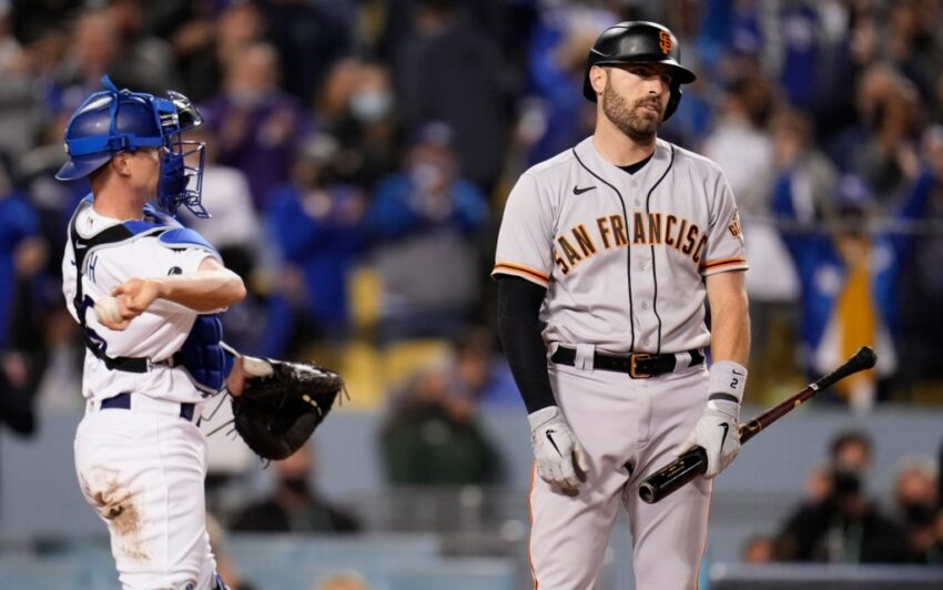 Whicker: Dodgers squelching Giants' offense as NLDS nears resolution